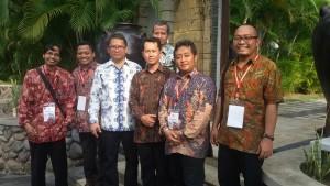 Komisioner KPID DIY bersama dengan Menkominfo Rudiantara
