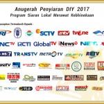 Inilah Daftar Lengkap Para Pemenang Anugerah Penyiaran DIY 2017