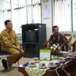 Audiensi KPID DIY ke Inspektorat Yogyakarta