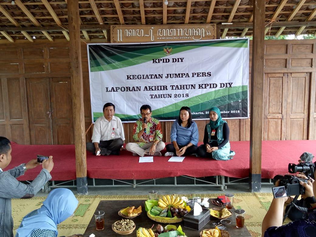 """SIARAN PERS: """"LAPORAN AKHIR TAHUN KOMISI PENYIARAN INDONESIA DAERAH DIY TAHUN 2018"""""""