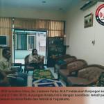 Koordinasi KPID Daerah Istimewa Yogyakarta dengan KPID Sumatera Utara terkait Pembinaan dan Pengawasan Isi Siaran radio dan Televisi di Yogyakarta